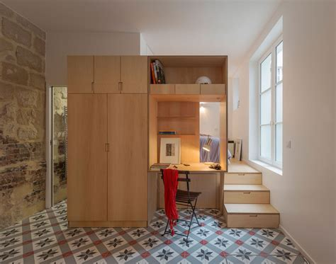 Modern Paris Studio Flat In A 17th Century Mansion