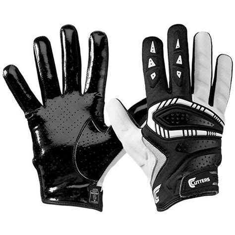 all black cutters best defensive football gloves reviewed tested in 2017