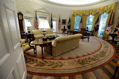 oval office renovation 2017 white house renovation photos released