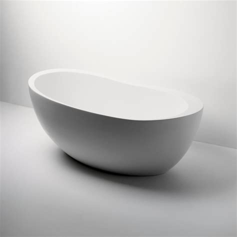 freestanding modern bathtubs freestanding oval composite bathtub modern bathtubs by waterworks