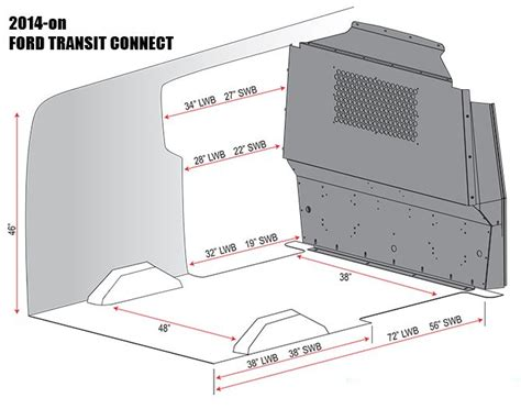 Ford Transit Connect Interior Dimensions by Transit Connect Ford Transit Connect Adrian Steel