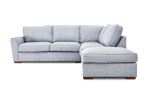 sofa without back crossword rhf classic back corner sofa fable gorgeous living