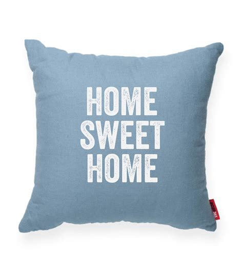 sweet home best pillow quot home sweet home quot decorative throw pillow posh365inc