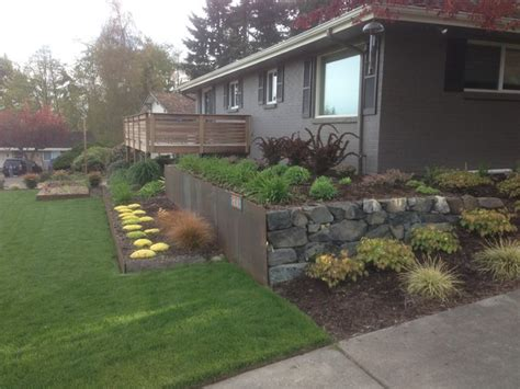 mid century modern in edmonds midcentury landscape seattle by greener living solutions inc