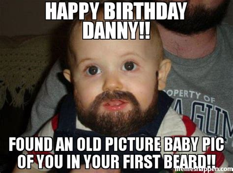 Danny Meme - happy birthday danny found an old picture baby pic of