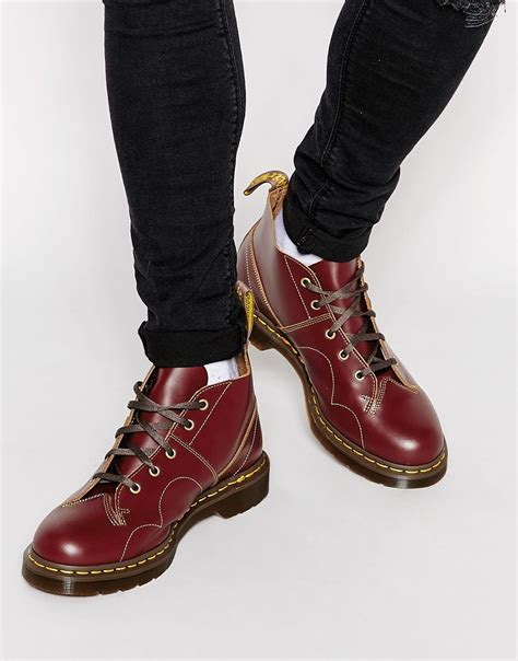 free monkey boots dr martens men boots red www imgkid the image kid