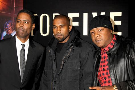 Chris Rock No In The Chagne Room by Kanye West Jadakiss More Attend Quot Top Five Quot Premiere