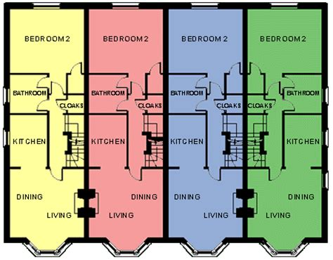 In Ground House Plans Townhouse Floor Plans