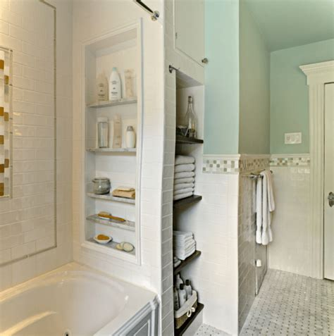 8 simple storage ideas for a small family bathroom