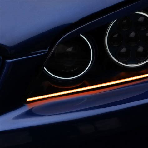 Oracle Lighting 174 4506 005 12 Quot Amber Concept Led Strip Led Lighting Strips For Cars