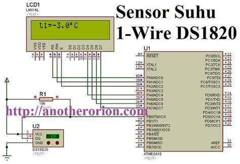 Sensor Suhu Ds18b20 sensor suhu 1 wire ds1820 dengan codevision avr anotherorion