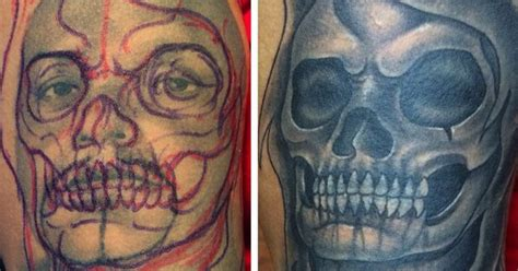 tattoo cover up portrait portrait cover up junior garcia tattoo lancaster ca