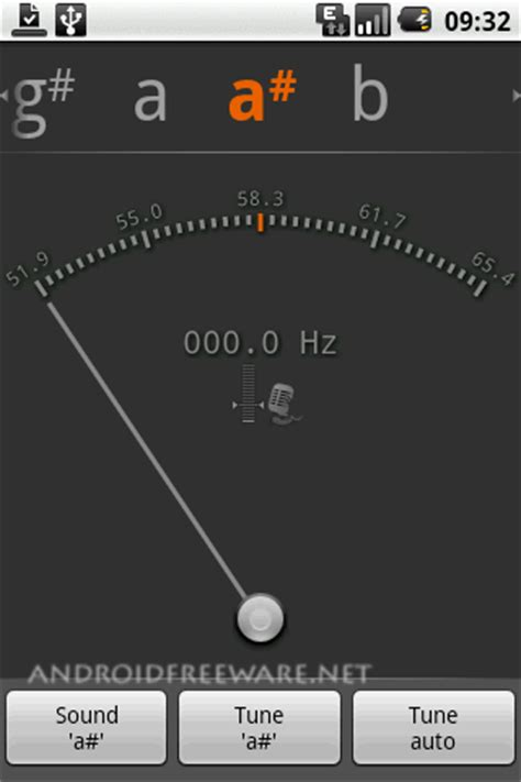 android string gstrings tuner free app android freeware