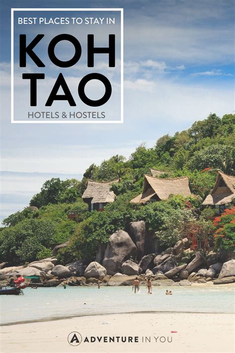 places  stay  koh tao thailand thailand travel