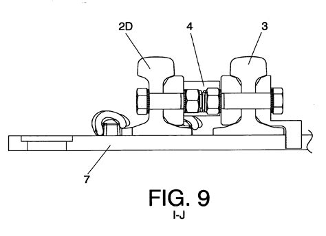 swing nose crossing patent ep2487293b1 acute swing nose crossing for
