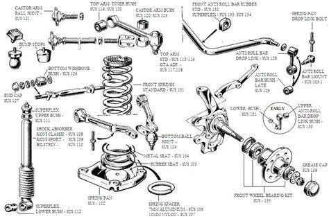 1995 ford thunderbird varivax us 1995 ford thunderbird front suspension parts diagram