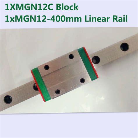 Mini Linear Block mr12 12mm linear rail guide mgn12 length 400mm with mini