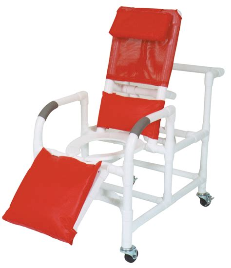 Pvc Reclining Shower Chair by Medline Pvc Shower Chairs