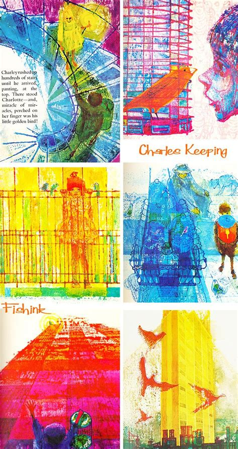 collage illustrations in picture books 16 best artist charles keeping images on