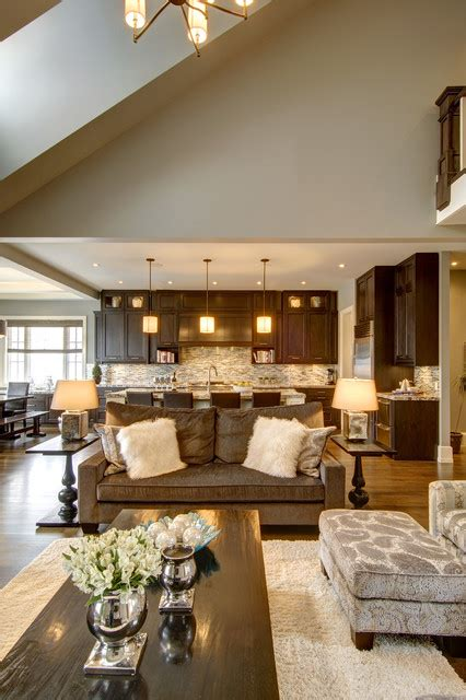 open concept home decorating ideas calgary s country chic living traditional living room