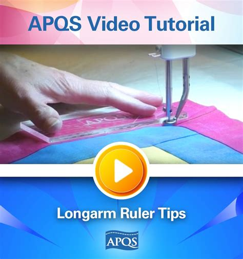 discover how to use longarm rulers to stitch in the ditch