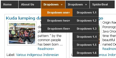 script css untuk membuat menu dropdown tips cara terbaik membuat navbar dropdown menu dengan css