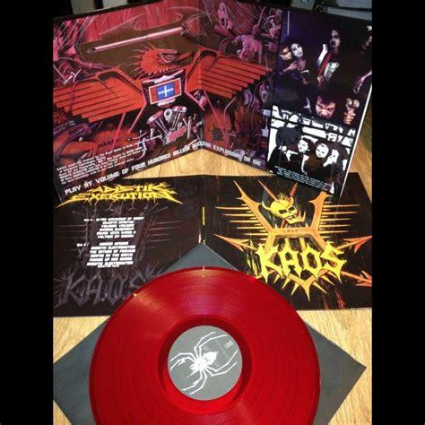 Kaos T Shirt H U F sadistik exekution kaos vinyl the last copies lp