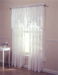 Vinyl Curtain Wall Curtain Amp Bath Outlet Alison Jacquard Lace Curtain Panel