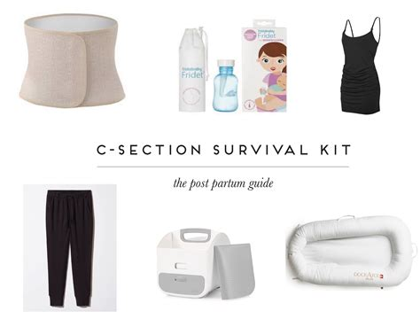 c section maternity leave caesarean survival kit bluebirdkisses