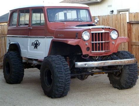 jeep willys wagon lifted lifted willys wagon things i