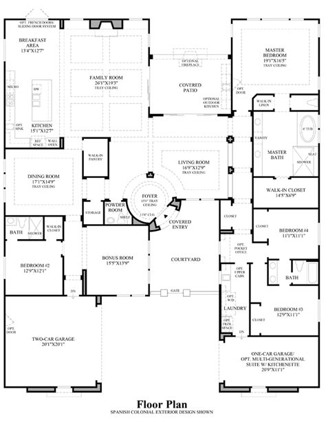 nv homes floor plans los altos the verano nv home design