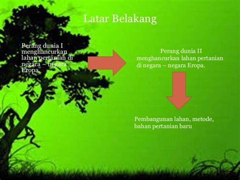 Karena Hijau revolusi hijau indonesia