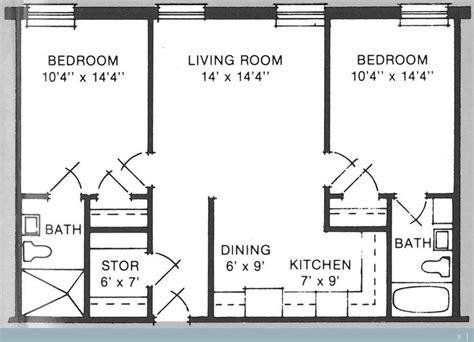 700 square feet apartment floor plan 700 sq ft house plans with divine wesley acres retirement