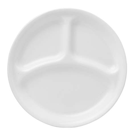 sectioned plate corelle 174 livingware winter frost white 10 25 quot divided