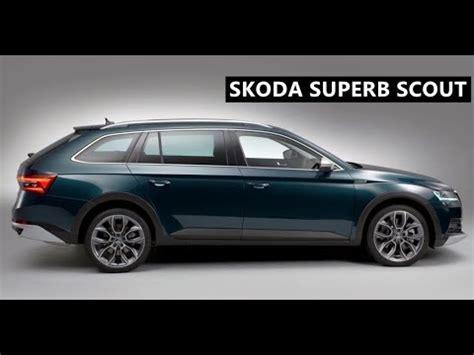 2020 Skoda Scout by 2020 Skoda Superb Scout