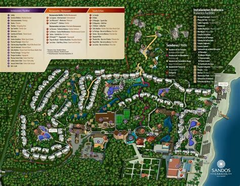 eco resort map 49 best ideas about sandos caracol eco resort on