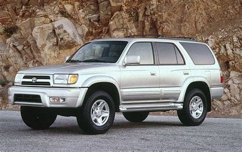 maintenance schedule for 1999 toyota 4runner openbay