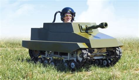 Backyard Artillery Paintball Panzer Converts You Into Backyard Rommel Wannabe