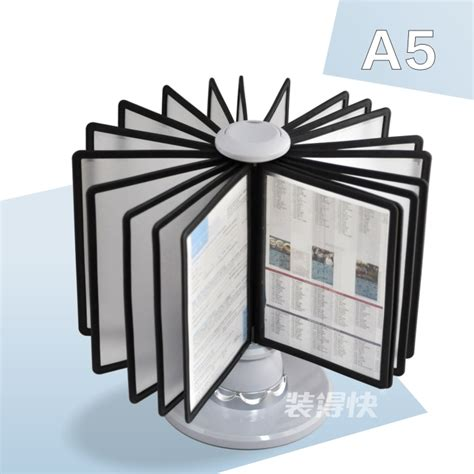a5 parts picture more detailed picture about a5 pageflip page file holder rotating display