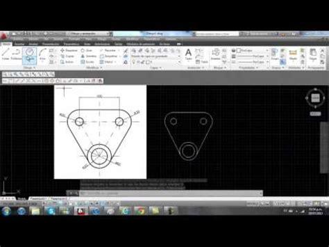 curso de autocad gratis parte 01 hacer plano de una casa tutorial autocad 2013 lineas radio cuadrante punto