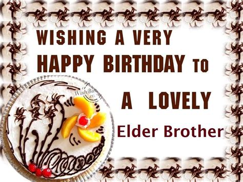 Wishing Happy Birthday To My Lovely Birthday Wishes For Elder Brother Page 2