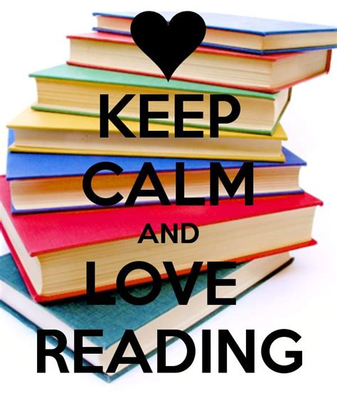 how to enjoy your and your books keep calm and reading books