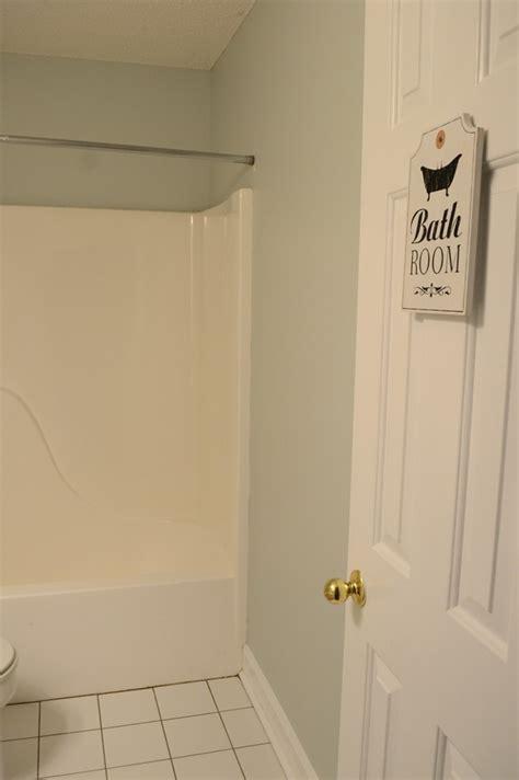 guest bathroom progress new paint 100roomchallenge