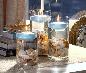 show me your beach theme centerpieces please weddingbee