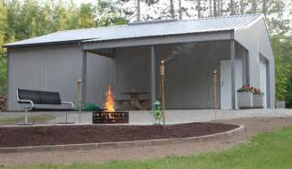 Metal Garage Designs Da Pole Barn Home On Pinterest Pole Barns Small Houses