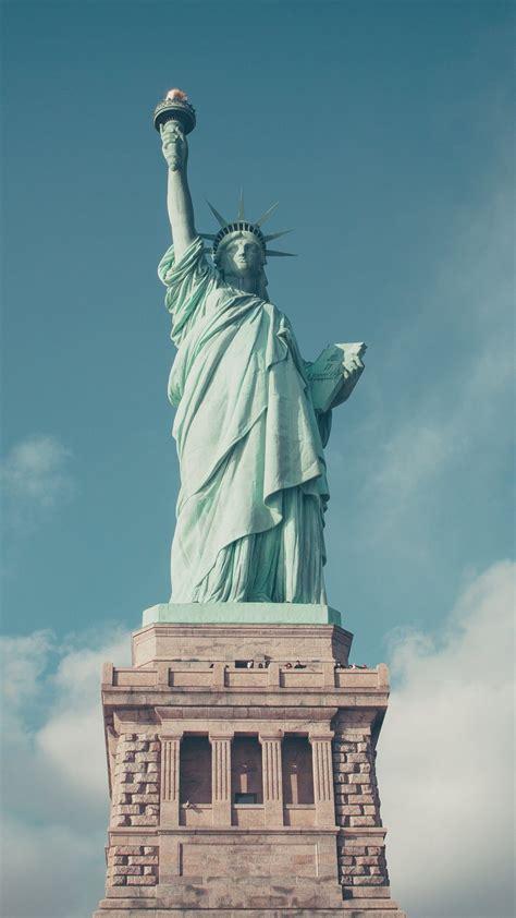 Liberty Wallpaper statue of liberty iphone mobile wallpaper iphone