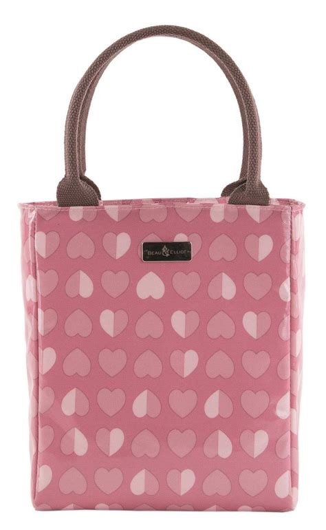 lunch tote beau elliot pink confetti insulated lunch tote lunch bag land