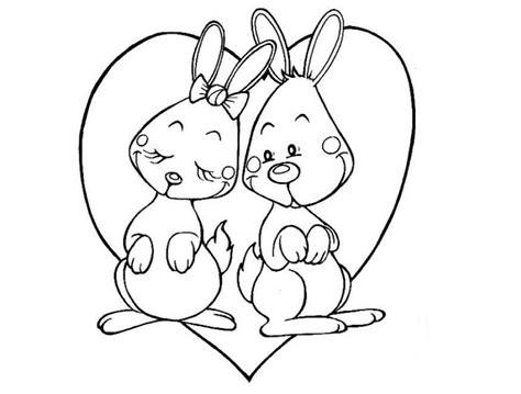 imagenes de animales juntos para colorear dibujos para colorear de animales enamorados dibujoswiki com