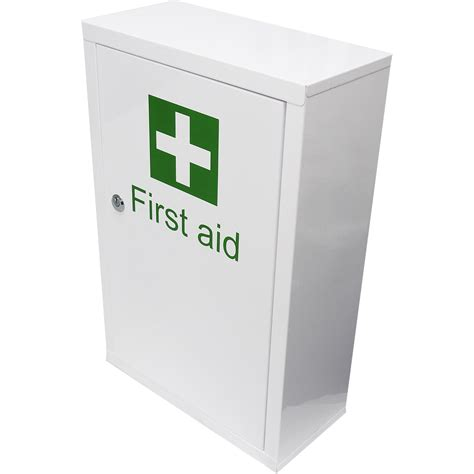 large first aid cabinet qualicare large medicine first aid medical wall mount
