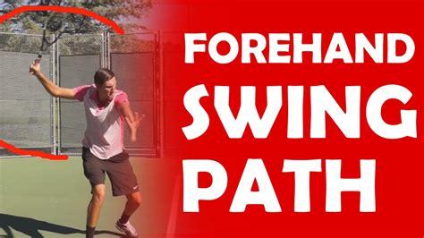 forehand swing path modern forehand swing path swing paths rob cherry